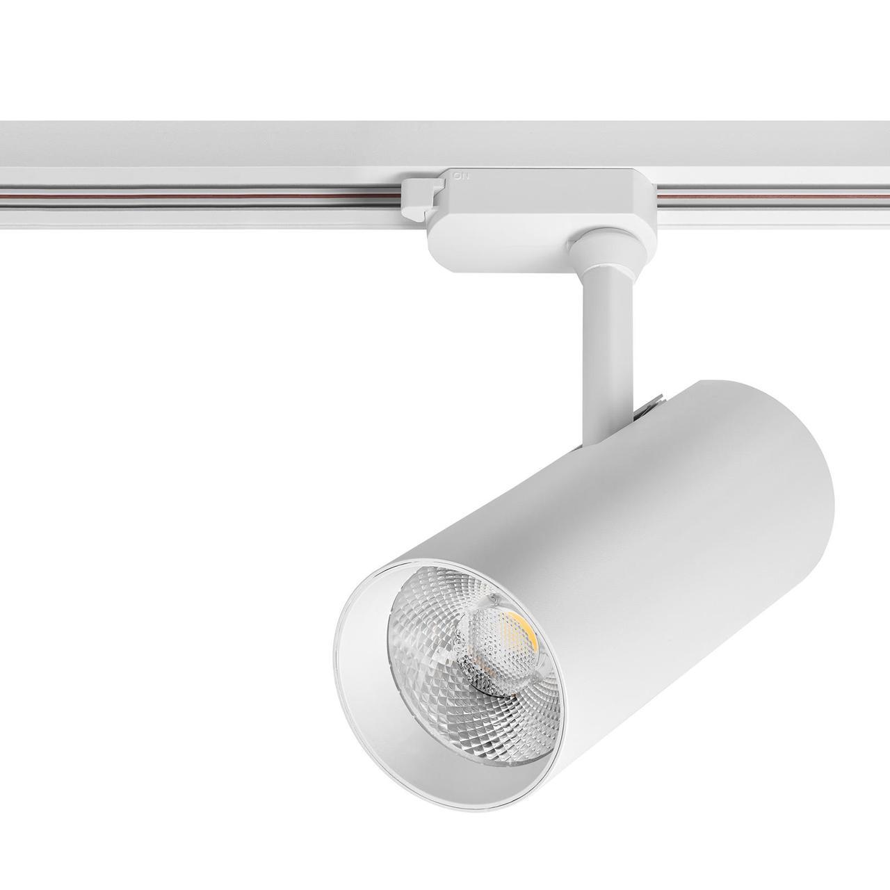 Лед прожектор трековый DELUX TL04 30 Вт  36°  4000K  белый