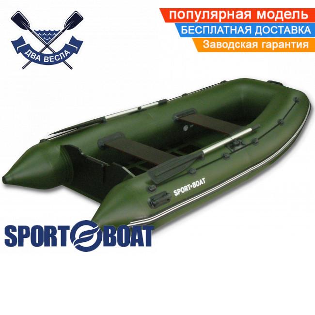 Моторная лодка Sport Boat A 310 LS ALPHA четырехместная лодка ПВХ под мотор Спорт Бот Альфа слань-коврик