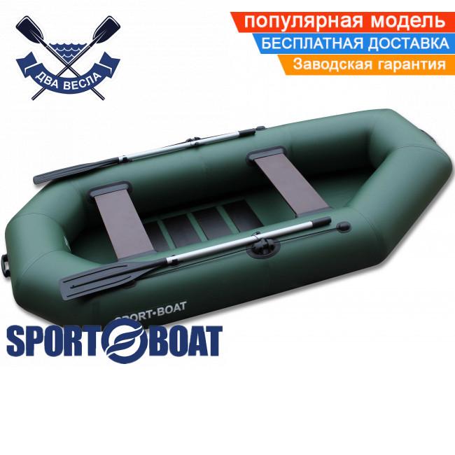 Надувная лодка Sport Boat C 300 LS CAYMAN четырехместная гребная лодка ПВХ Спорт Бот Кайман слань-коврик