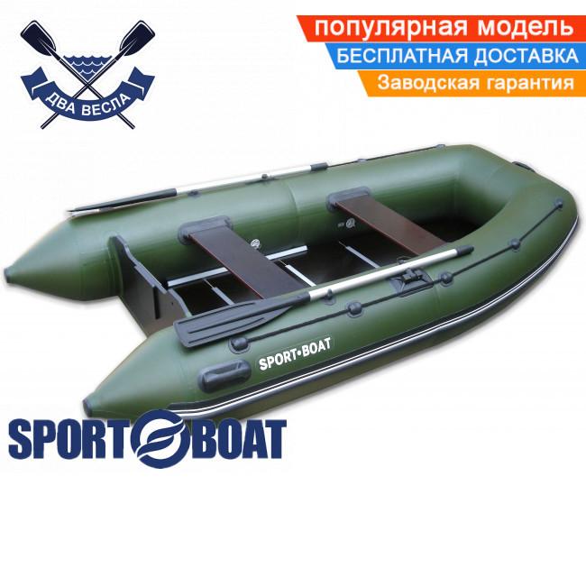 Килевая лодка Sport Boat А 310 LК ALPHA четырехместная лодка с килем под мотор Спорт Бот Альфа жесткое дно