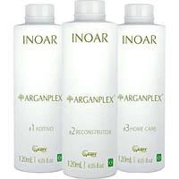 Inoar ArganPlex Набор для защиты волос во время окрашивания Иноар Арган Плекс 3 шт