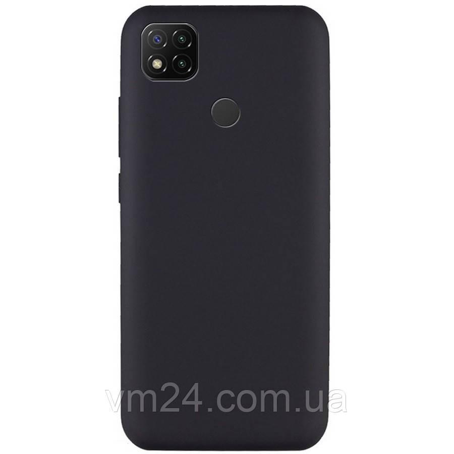 Чехол-накладка Силиконовая накладка для Xiaomi Redmi 9C черный