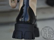 Женские ботинки Prada Monolith Brushed Rois Leather Boots Beige 2T255M, фото 2
