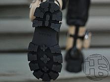 Женские ботинки Prada Monolith Brushed Rois Leather Boots Beige 2T255M, фото 3