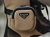Женские ботинки Prada Monolith Brushed Rois Leather Boots Beige 2T255M, фото 4