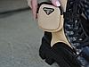 Женские ботинки Prada Monolith Brushed Rois Leather Boots Beige 2T255M, фото 6