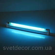 Кварцевая лампа УФ озоновая 30см 8w Т5 для дезинфекции