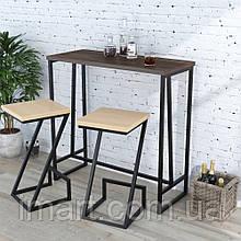 Барный стол BS-110 Loft Design Орех Модена. Барний стіл