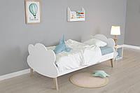 Дитяче односпальне ліжко Сloudy 80*190, фото 1