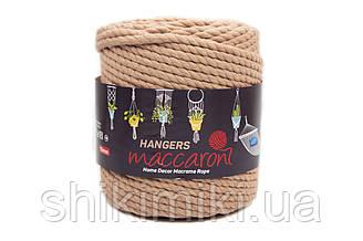 Macaroni Rope Hangers 10 mm,Карамельний колір