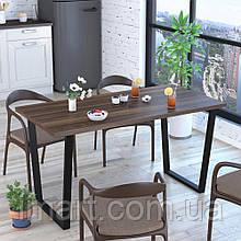Стол обеденный Трапеция Loft Design Орех Модена. Обідній стіл для дому та офісу