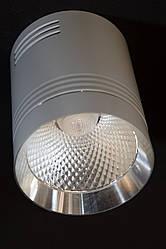 Светодиодный светильник накладной точечный  Feron AL542 18W 4000К белый+серебро