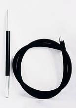 Силиконовые  шланг Long  с  покрытием Soft touch чёрный для Кальяна