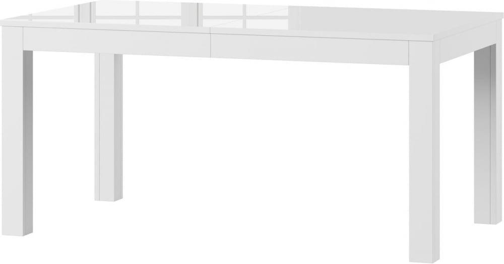 Стол обеденный деревянный WENUS Szynaka белый глянец