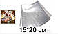 15*20 Пакет полипропиленовый для кондитерских изделий Упаковка пакеты для пряника 50шт, фото 2