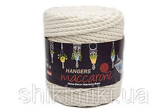 Macaroni Rope Hangers 10 mm,колір Молочний