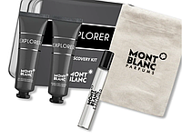 Mont Blanc Explorer - Набор (edt 7,5ml+sh/gel 30ml+ash/bal 30ml) (Оригинал)