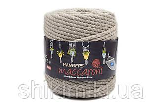 Macaroni Rope Hangers 10 mm,колір Льон