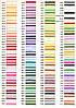 Тончайшая лента из натурального шелка, цвет —в карте цветов.  Ширина 4мм.