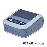 МОБИЛЬНЫЙ ПРИНТЕР 2 в 1 ЭТИКЕТОК И ЧЕКОВ XPRINTER XP-P323B (USB+BLUETOOTH), фото 1