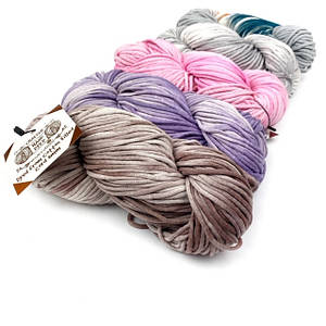Трикотажный шнур Cotton Filled Hand Dyed 3мм