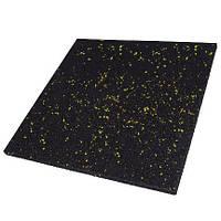 Резиновая плитка PuzzleGym 500х500х10 мм Разные цвета