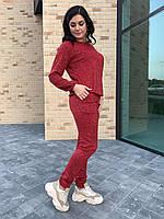 Стильный женский костюм ангора, фото 1