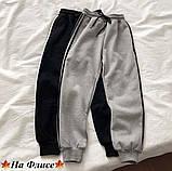 Спортивные штаны женские чёрный, графит, 42-44, 46-48, фото 3
