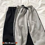 Спортивные штаны женские чёрный, графит, 42-44, 46-48, фото 4