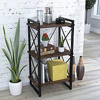 Стеллаж Скиф 3-550 Loft Design Орех Модена для дома и офиса