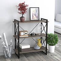 Стеллаж Скиф 3-920 Loft Design Дуб Палена для дома и офиса