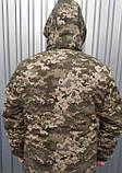 Бушлат зимовий теплий Піксель ВСУ 48,50,52,54,58,58,60 Синтепон+фліс, фото 4
