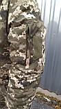 Бушлат зимовий теплий Піксель ВСУ 48,50,52,54,58,58,60 Синтепон+фліс, фото 6