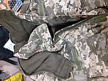Бушлат зимовий теплий Піксель ВСУ 48,50,52,54,58,58,60 Синтепон+фліс, фото 9