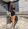 Элегантное женское платье с кружевом 90 ОНБ, фото 3