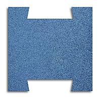 Гумова плитка-пазл 500х500х20 мм (синя) PuzzleGym