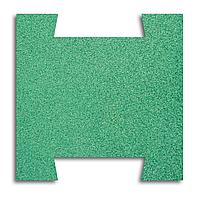 Гумова плитка-пазл 500х500х20 мм (зелена) PuzzleGym