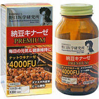 Meiji Natto Kinase Premium 4000FU Наттокиназа для сердца и сосудов 120 шт