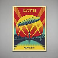 Постер: Led Zepellin (Макет №2)