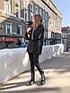 Женский спортивный костюм из двухнитки : свободное худи и штаны (р.42 - 50) 73rt1165, фото 6