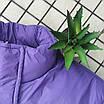Женская яркая светоотражающая короткая куртка с переливом без капюшона (р. 42-46) 66ki503Q, фото 2