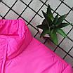 Женская яркая светоотражающая короткая куртка с переливом без капюшона (р. 42-46) 66ki503Q, фото 4
