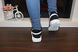 Кросівки зимові жіночі чорні дутики С833, фото 8
