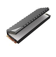 Радиатор Jonsbo M.2 2280 SSD NVMe теплоотвод из алюминиевого сплава с тепловой прокладкой