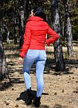 Куртка женская красная демисезонная код П200, фото 5