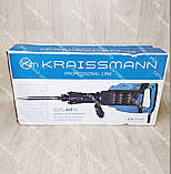 Профессиональный Отбойный молоток KRAISSMANN 2000 AH 45 Дж, фото 2