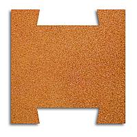Гумова плитка-пазл 500х500х20 мм (помаранчева) PuzzleGym