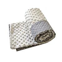 Плед для новорожденного, одеяло в кроватку, в коляску на весну/осень