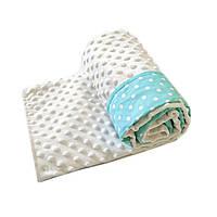 Плюшевый плед для новорожденного, одеяло в коляску