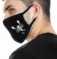 Многоразовые защитные маски (респираторы) на лицо спринтами Знаки зодиака